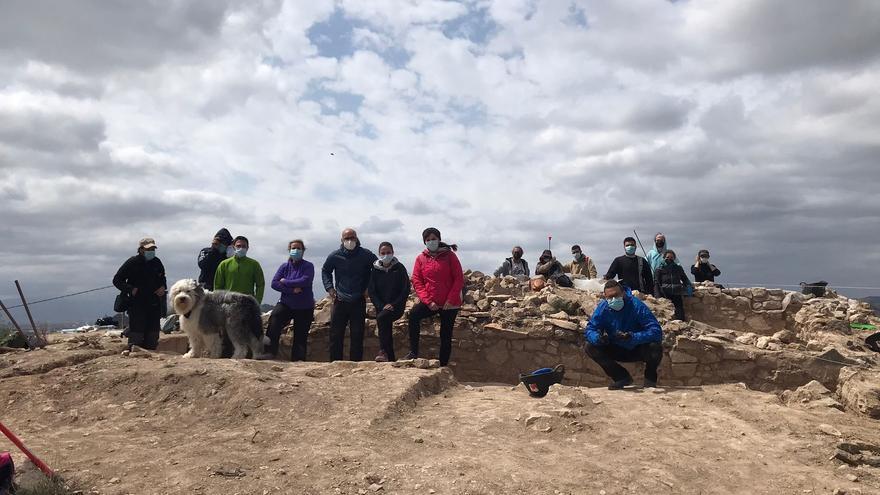 Descubierto un santuario íbero en el yacimiento arqueológico de Santomera