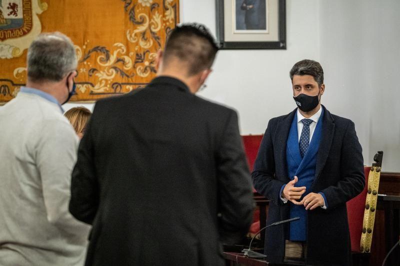 Pleno de presupuestos del Ayuntamiento de La Laguna.