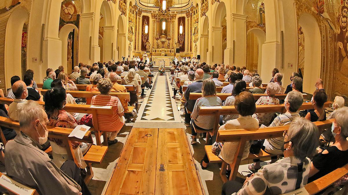 Eucaristia d'obertura de la Porta del Jubileu de Manresa