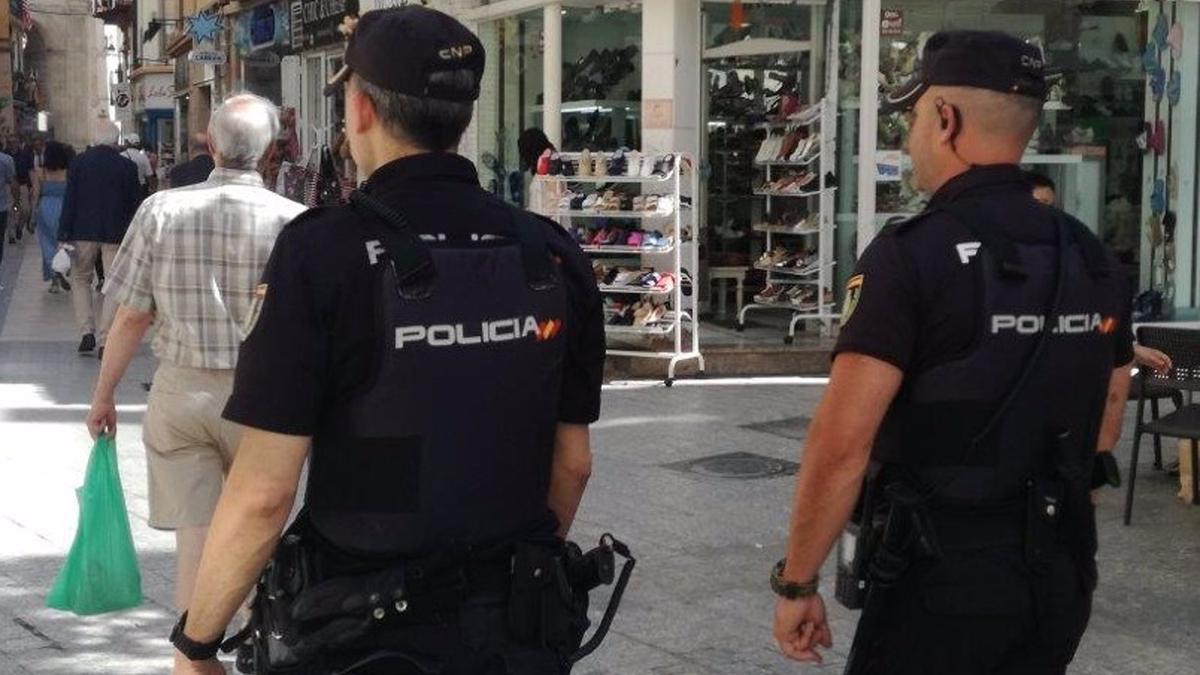 Policía de Málaga.