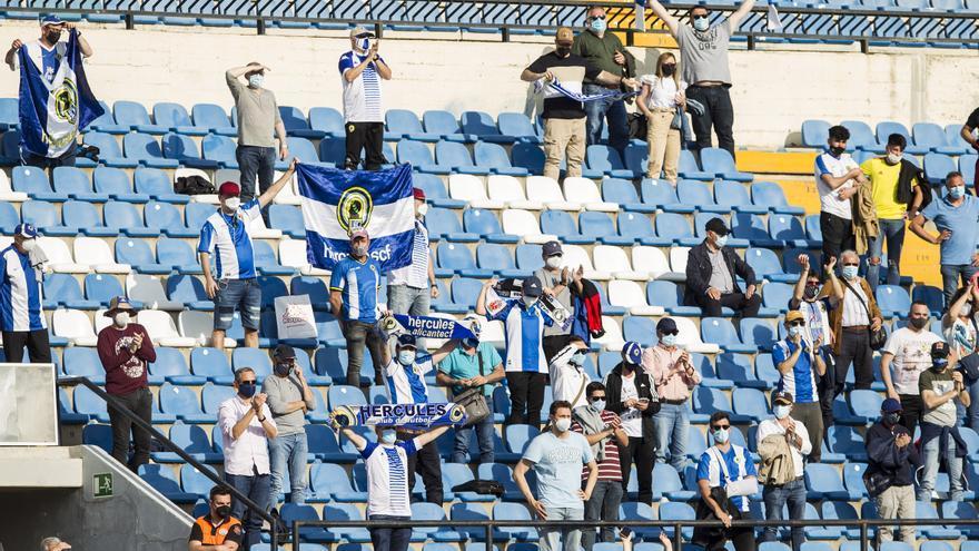 La afición elegirá la primera equipación del Hércules para la próxima temporada