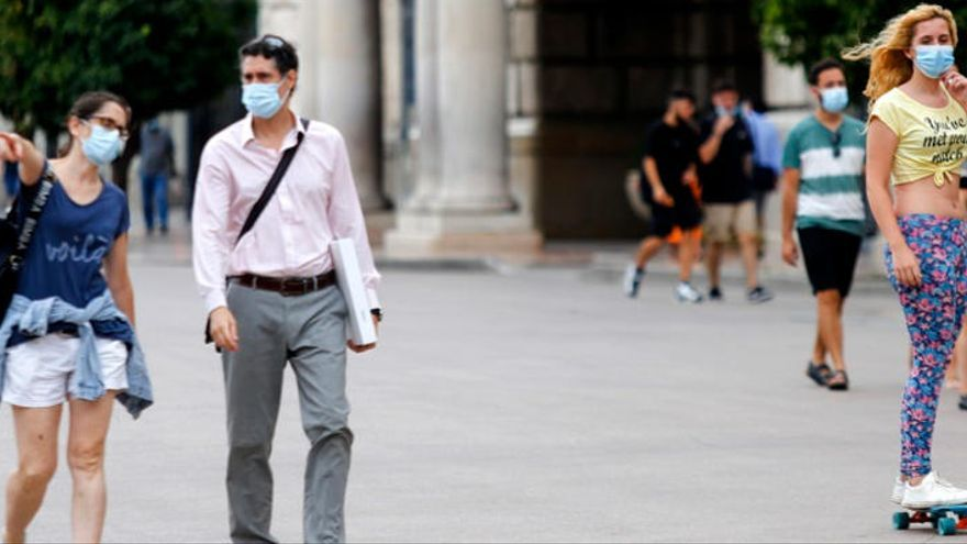 Dos fallecidos y 540 nuevos casos de coronavirus en la Comunitat Valenciana en el último día