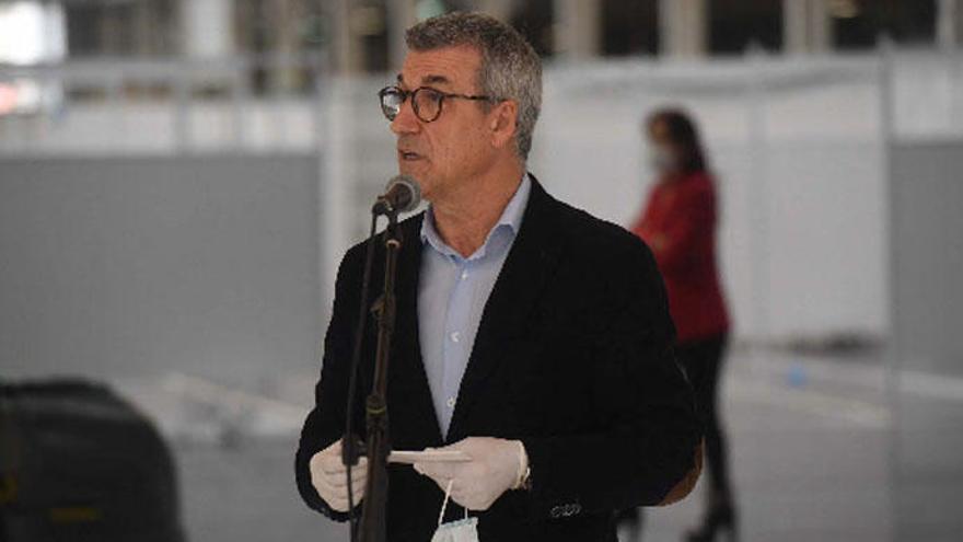Coronavirus A Coruña | Presentación del hospital de campaña en Expocoruña