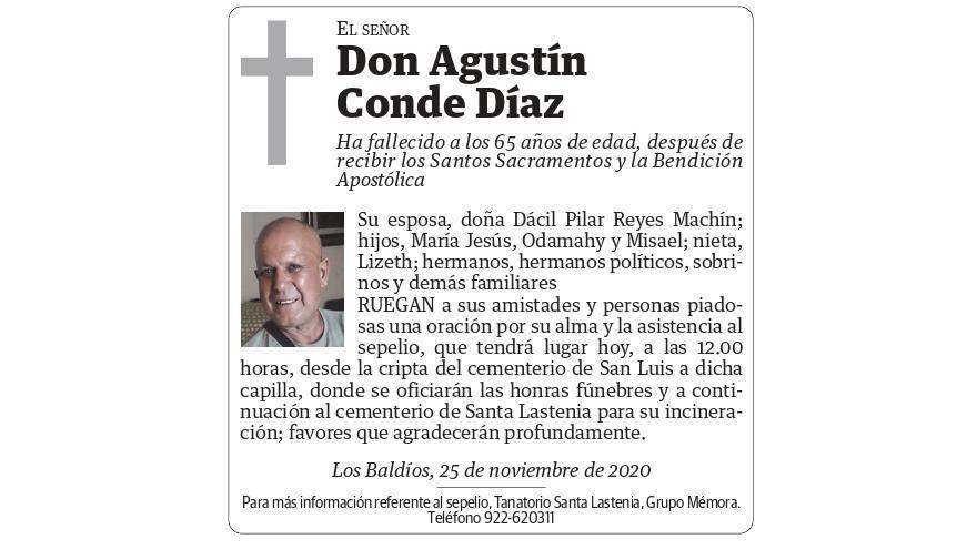 Agustín Conde Díaz