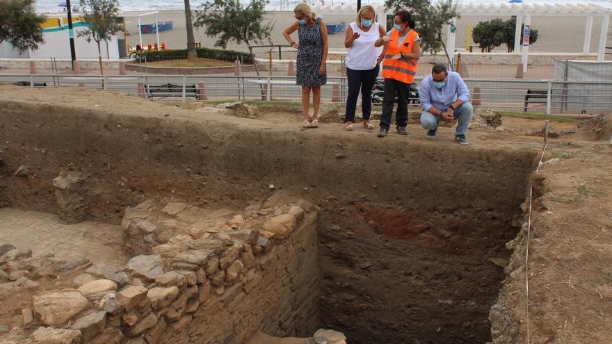 La excavación de la ciudad romana de Suel saca a la luz restos del siglo III d. C.