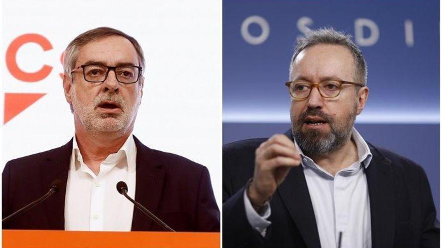 La debacle de Cs deja a Villegas y Girauta sin escaño