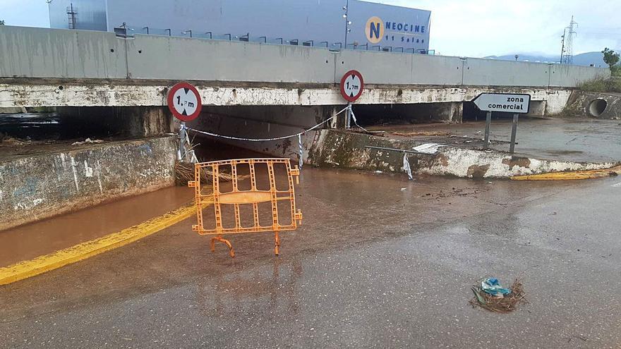 Les tempestes deixen fins a 80 litres per metre quadrat a Castelló