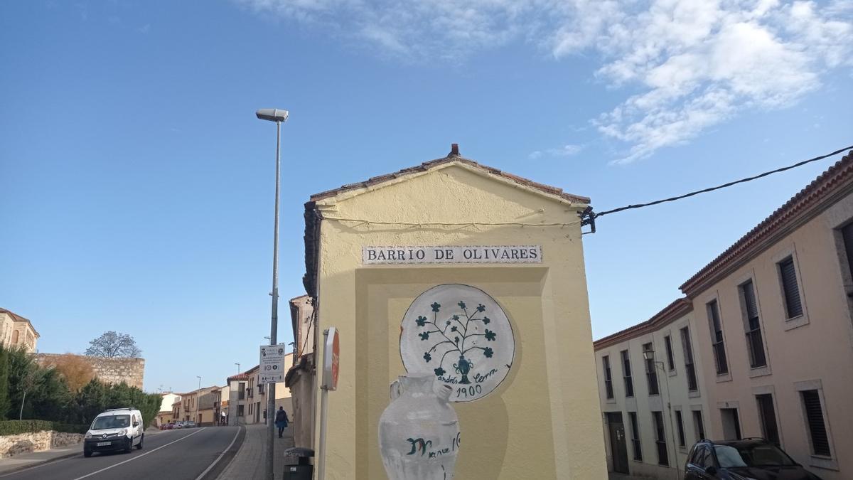 Nueva mural en Olivares