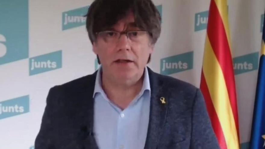 Puigdemont trenca el seu silenci per demanar lleialtat