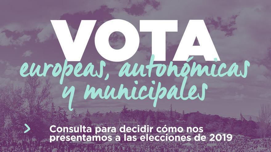 Podemos se presentará con su marca a las municipales y autonómicas de 2019