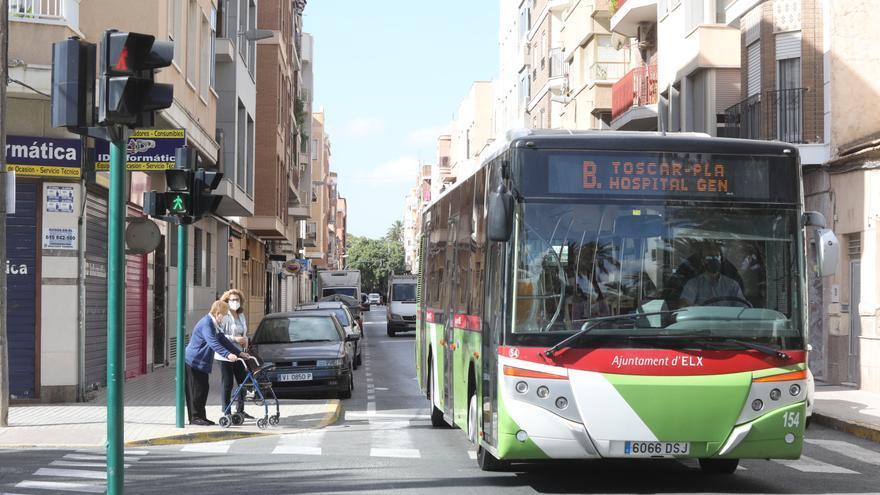 Movilidad creará nuevos carriles para el autobús en Altabix y Portes Encarnades