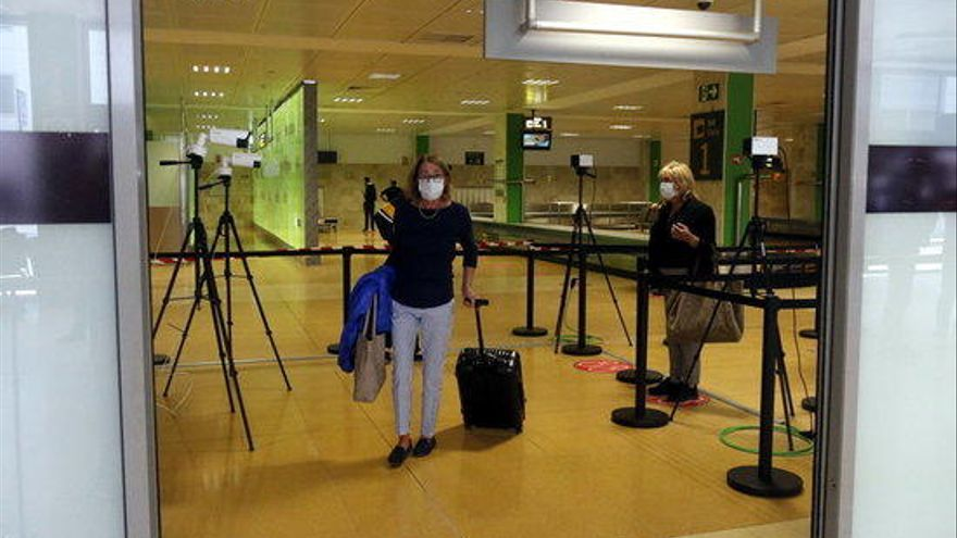 L'aeroport de Girona reprèn les rutes comercials després de l'aturada per la pandèmia