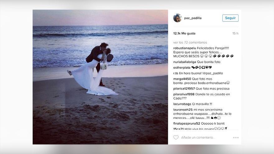 La preciosa declaración de Amor de Paz Padilla a Antonio en su aniversario de boda