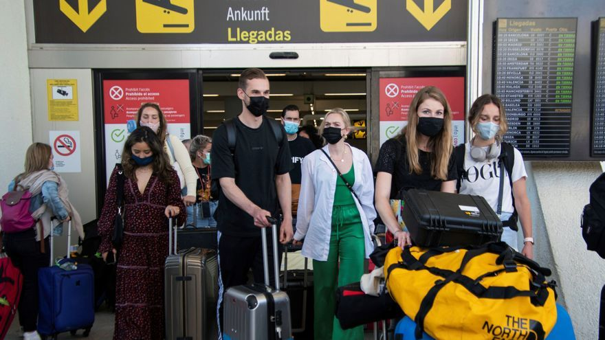 El aeropuerto de Palma prevé cerca de 2.200 vuelos este fin de semana, casi 800 para hoy