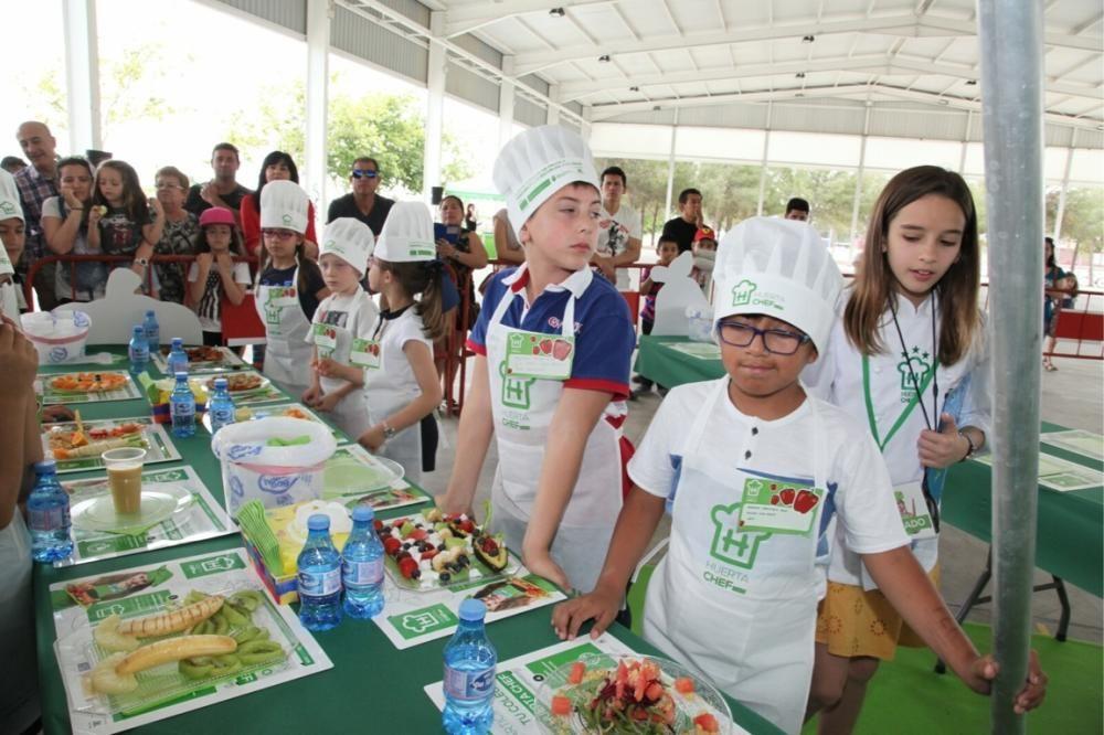 Concurso infantil de cocina de Fecoam