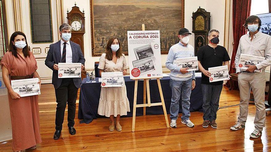 A Coruña histórica en imágenes y 611 hechos memorables