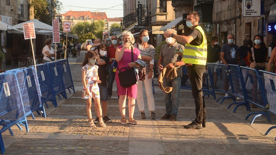 La quinta ola da signos de suavizarse en Galicia