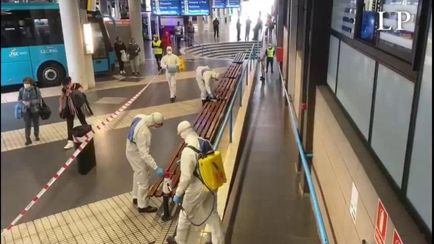 2.500 trabajadores del transporte, afectados por ERTE en Canarias
