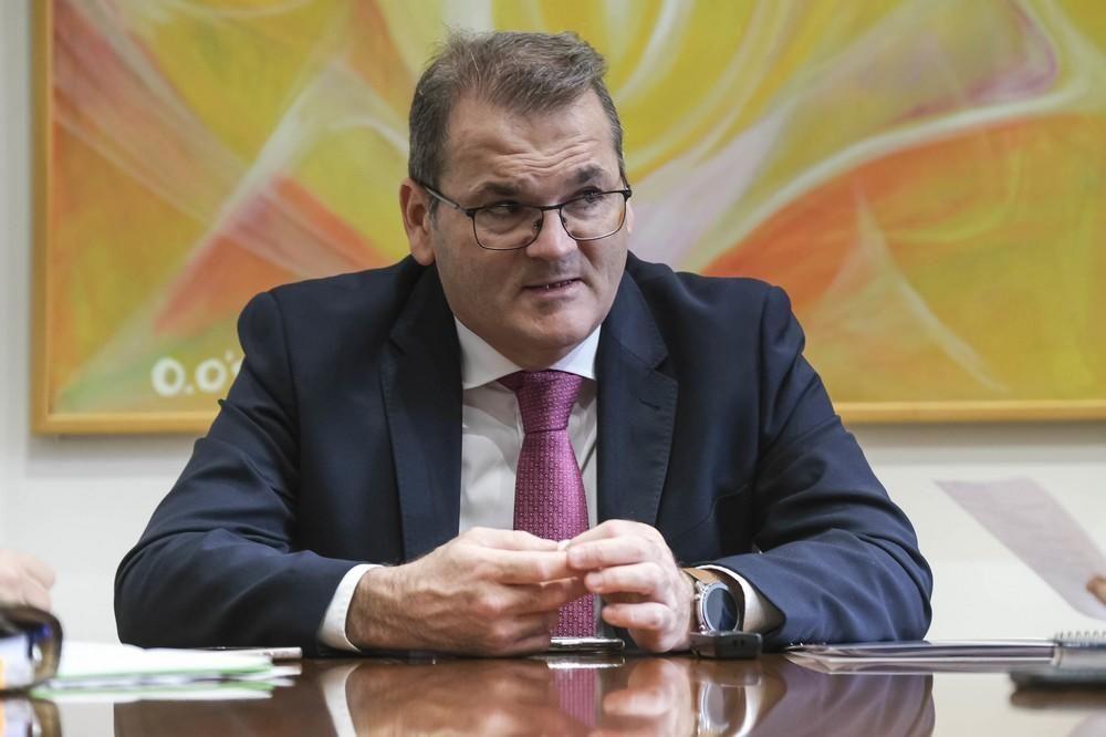 El catedrático José Manuel Pastor, en los 'Desayunos Universidad - Sociedad'.