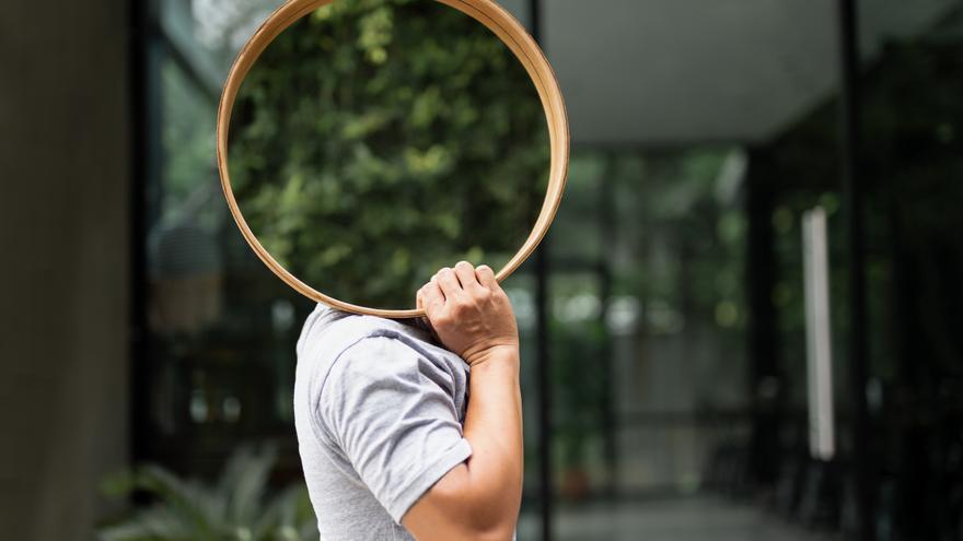 Cuatro espejos de bambú de Leroy Merlín para un estilo nórdico