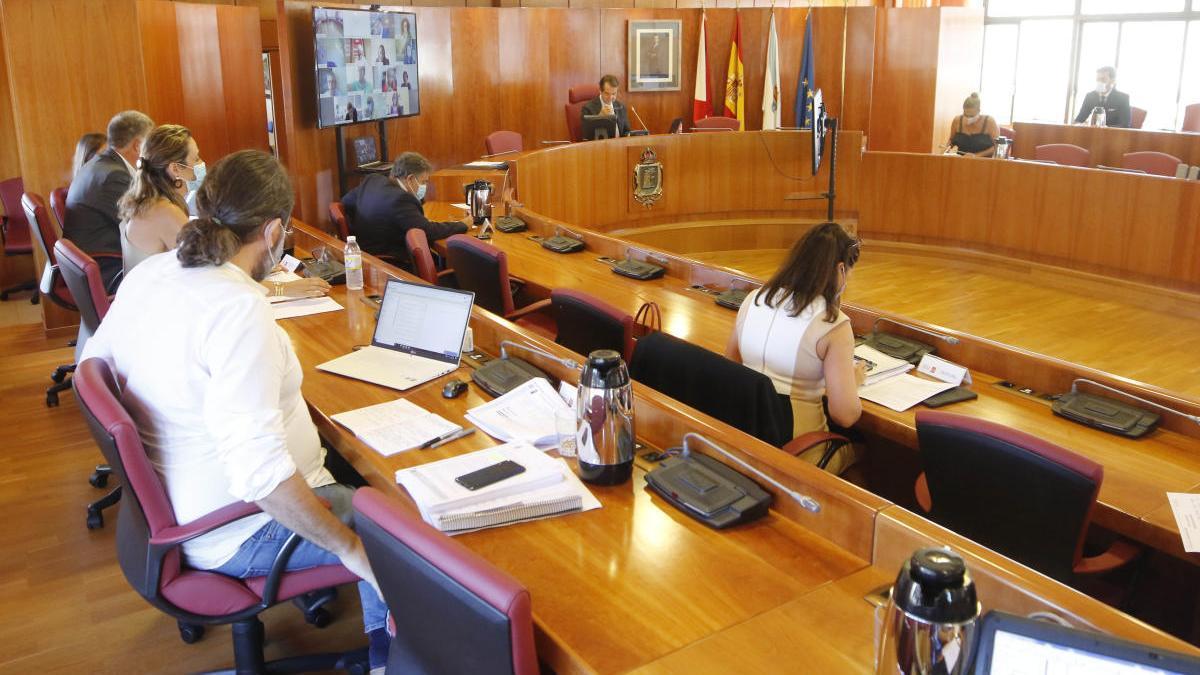 El pleno del Concello / Alba Villar