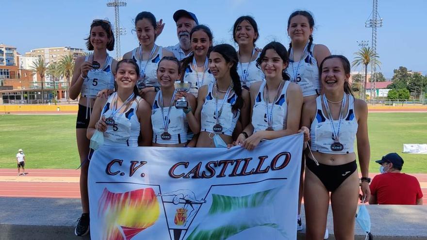 El Virgen del Castillo y el Trotasierra logran bronces en el campeonato andaluz