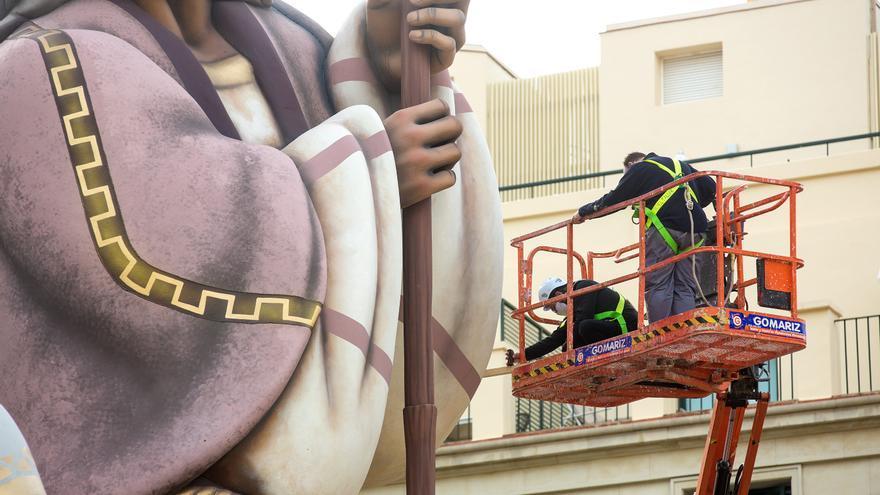 Tres técnicos certifican que el Belén que aspira al Guinness mide 18,10 metros