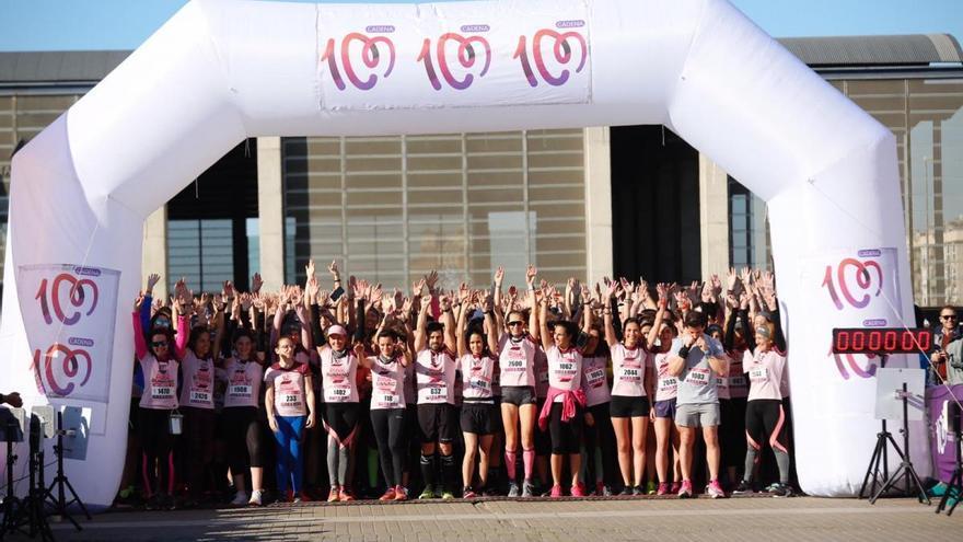 Raquel Hernández domina en la Pink Running