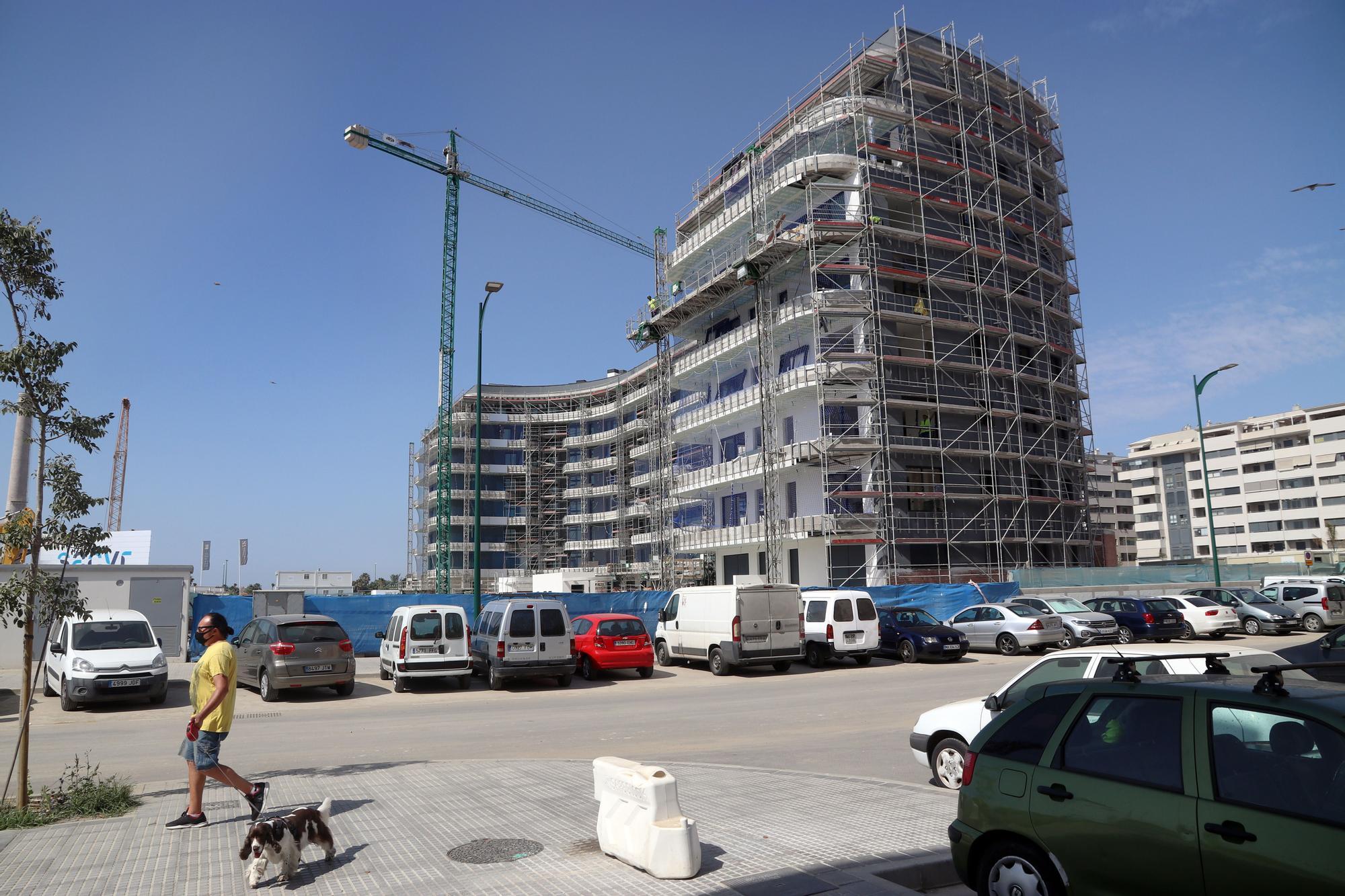La urbanización Málaga Towers toma altura