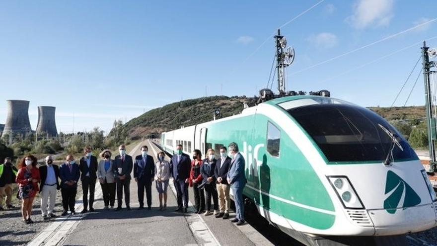 Completado el primer viaje en pruebas de la variante ferroviaria de Pajares