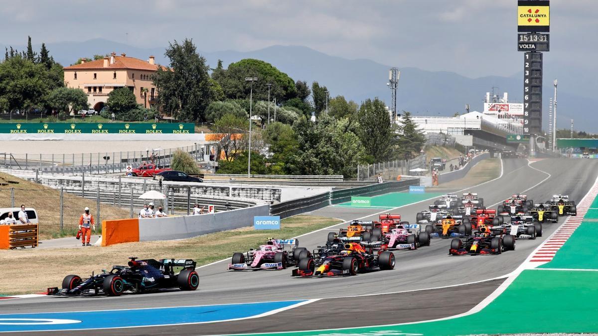 2020 Spanish Grand Prix of Formula 1.