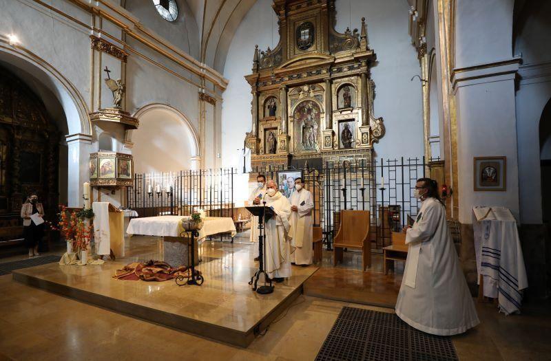 Misa en San Nicolás en memoria de los 600.000 gitanos asesinados en el holocausto nazi