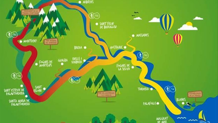 Una ruta d'uns 200 quilòmetres unirà divuit pobles de la Tordera