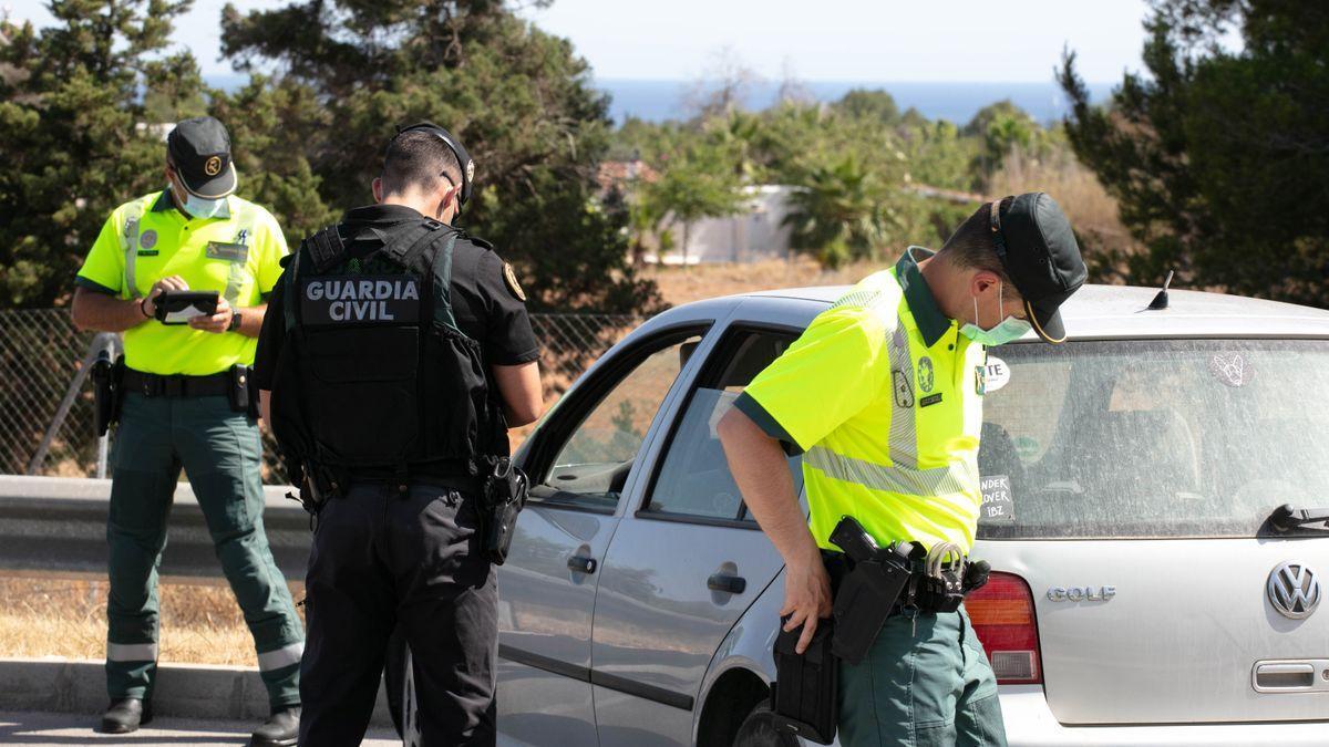 Imagen de archivo de la Guardia Civil de Ibiza.