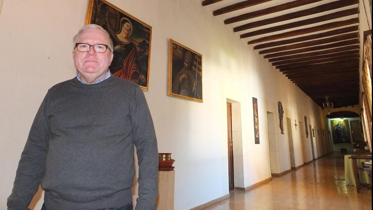 Foto de archivo del párroco Gaspar Alemany.