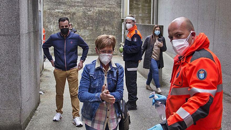 La incidencia de COVID se dispara en Lalín, que alcanza los 45 casos activos
