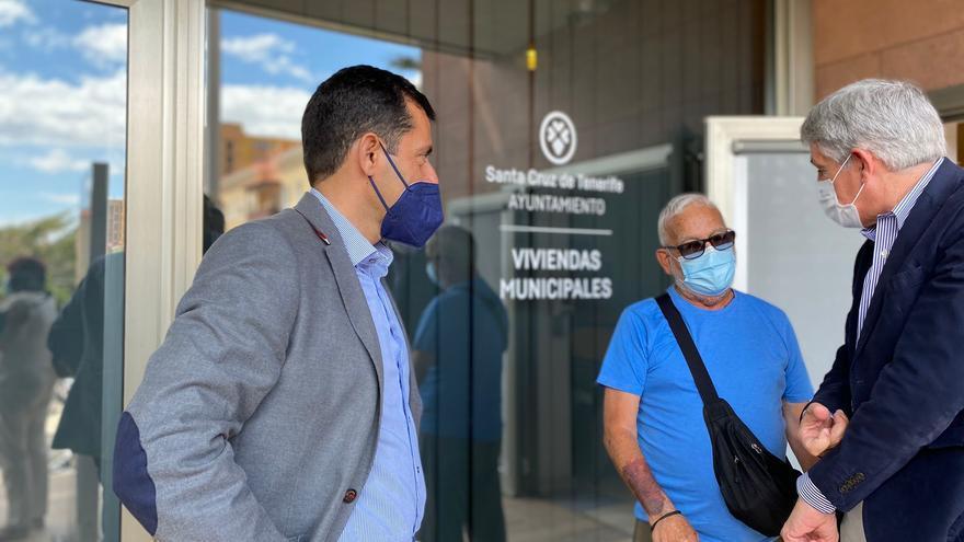 Las primeras doce familias de las 115 viviendas de La Candelaria estrenarán su casa en junio