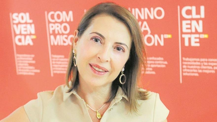 Ángeles Serna, la promotora que quiso ser diplomática