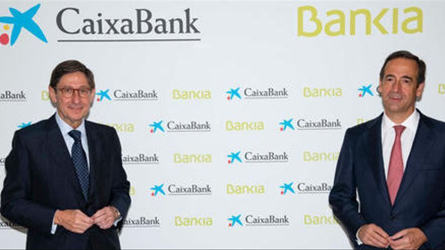 CaixaBank i Bankia quedaran registrades com una sola entitat el pròxim 26 de març