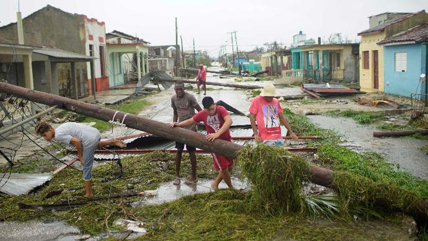 El Cabildo destina 150.000 euros a los afectados del huracán 'Irma'