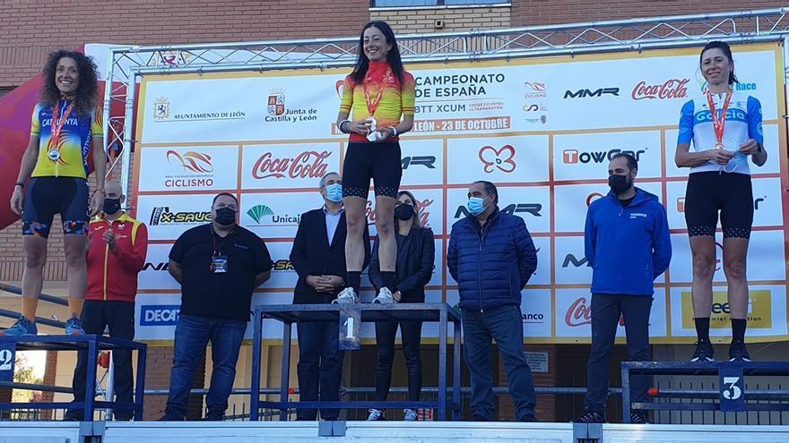 Susana Alonso revalida el título de campeona de España de BTT-Ultramaratón