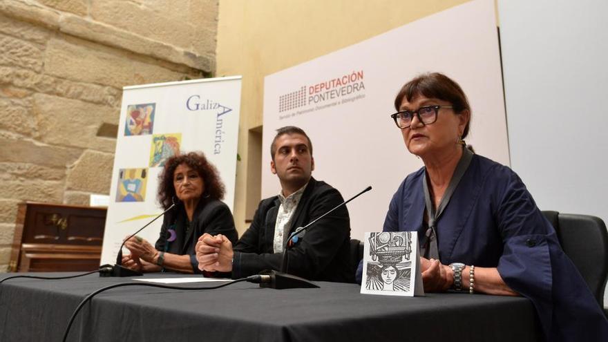 La exposición Galiza-América reconoce la labor de la diáspora en la conservación de la cultura gallega