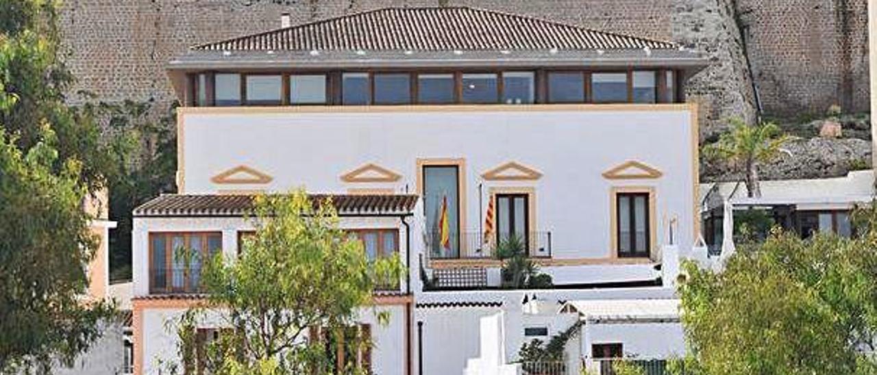 Can Botino, sede del Ayuntamiento de Vila.
