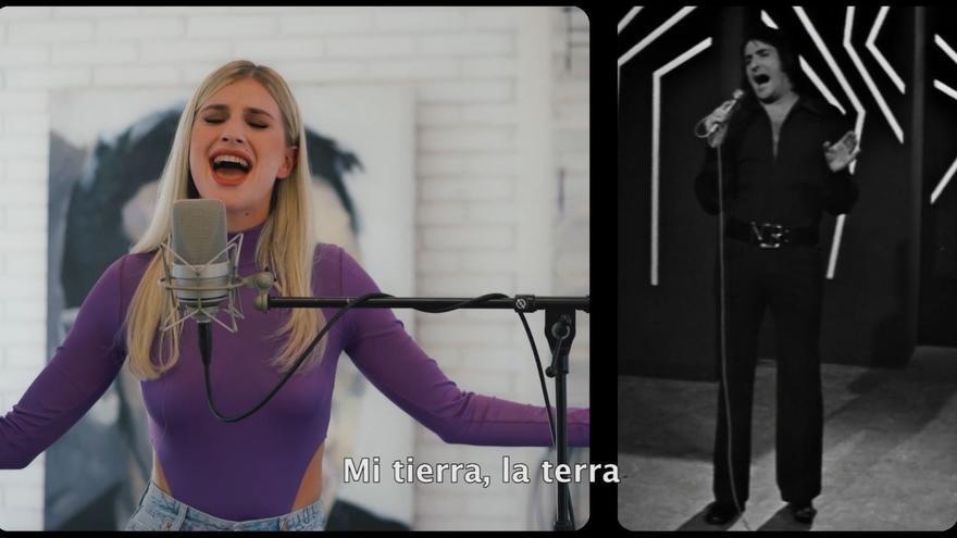 À Punt felicita el Nou d'Octubre con un dueto de Nino  Bravo y Samantha Gilabert