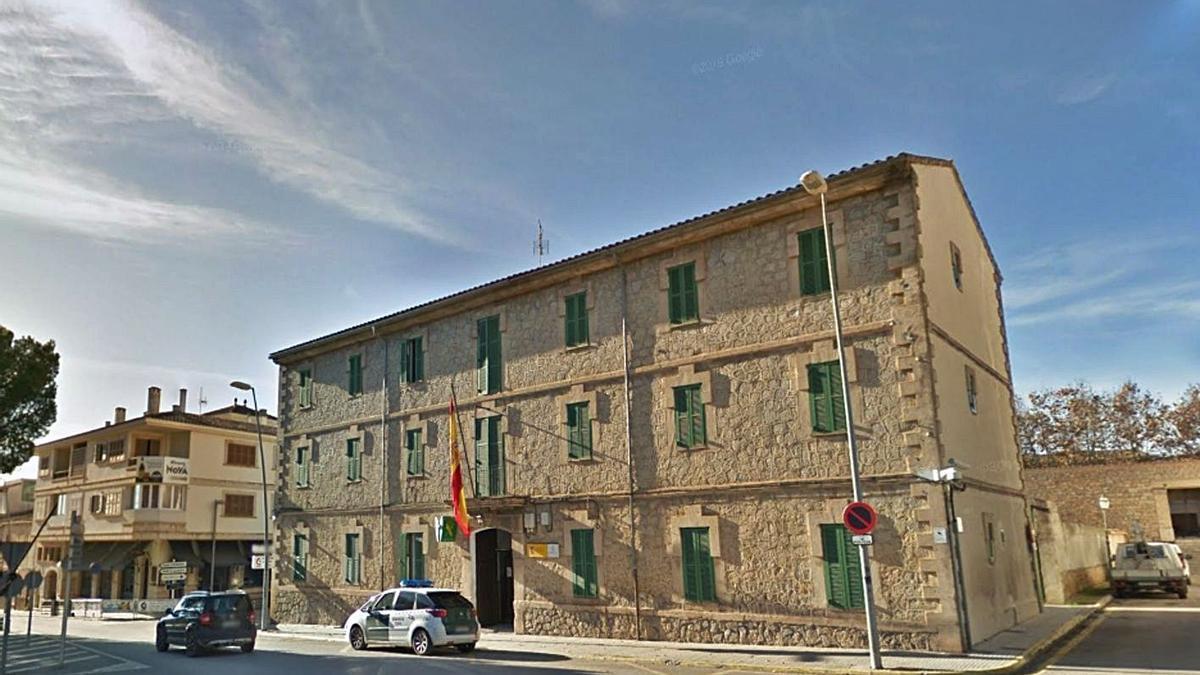 Los hechos ocurrieron en las inmediaciones del cuartel de la Guardia Civil de Artà.   DM