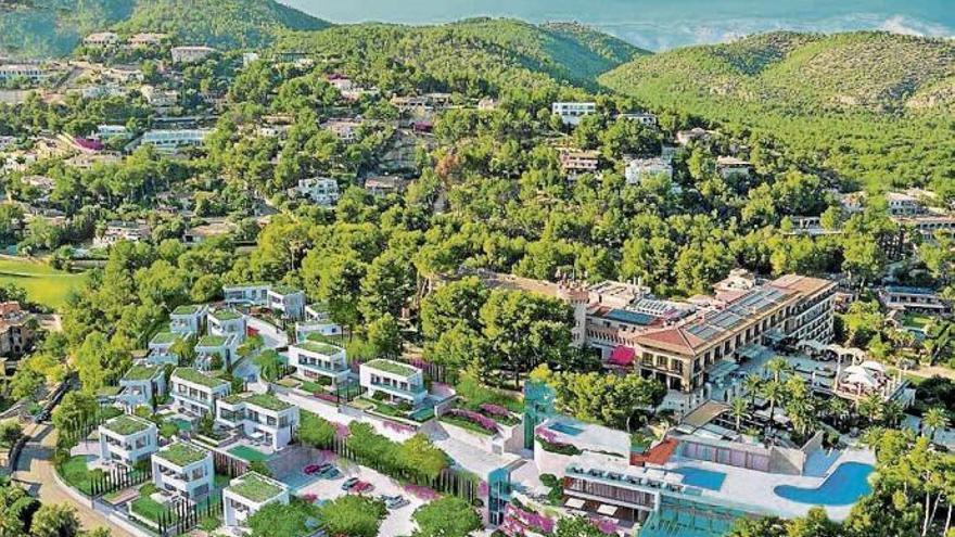 Protest gegen Pläne für Luxus-Ferienhäuser in Son Vida