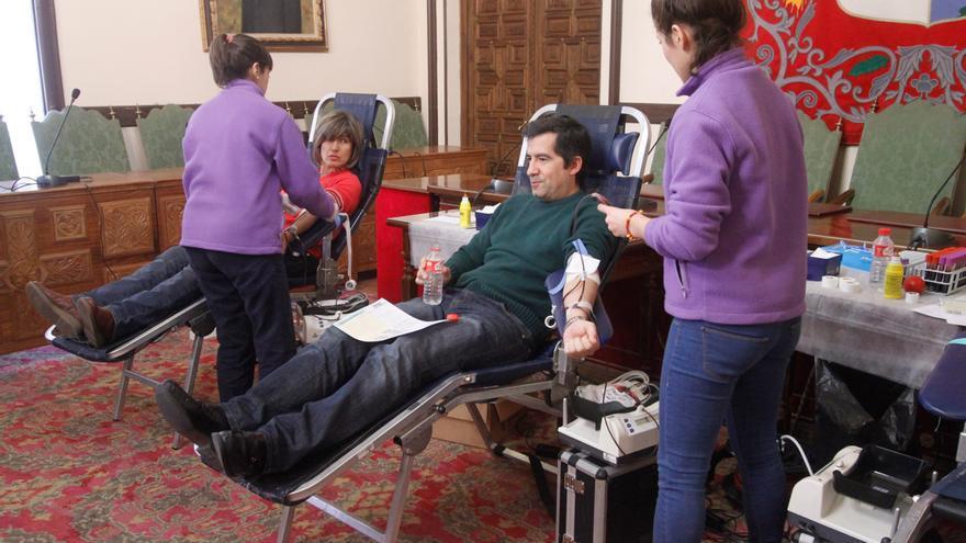 Habilitados siete puntos de donación de sangre la próxima semana en Zamora