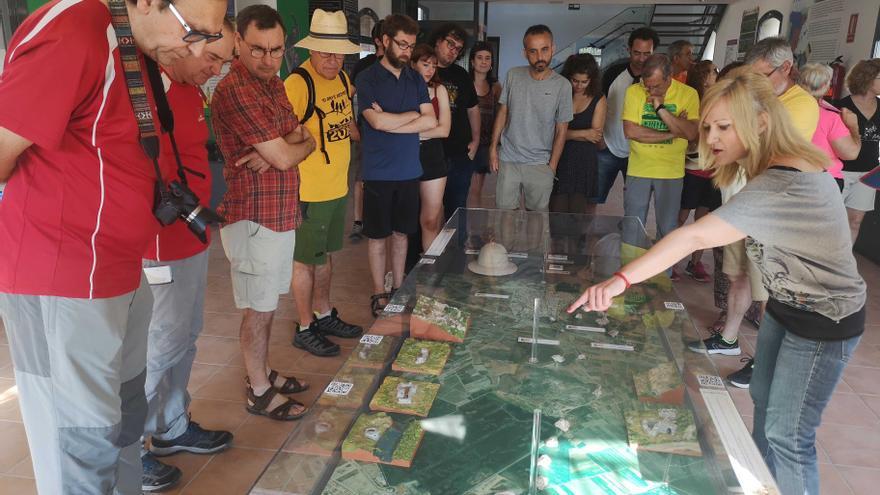 Almenara: La línea XYZ, vestigios de la contienda civil