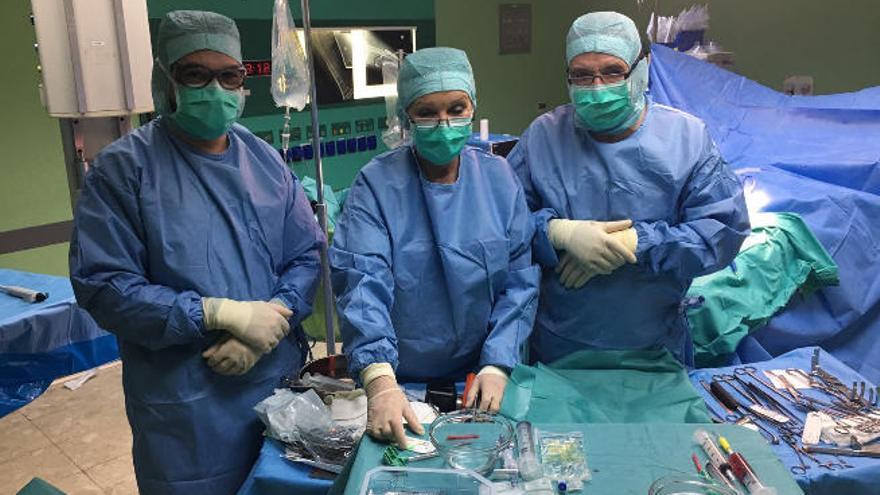 El Perpetuo Socorro, pionero en una intervención de pseudoartrosis