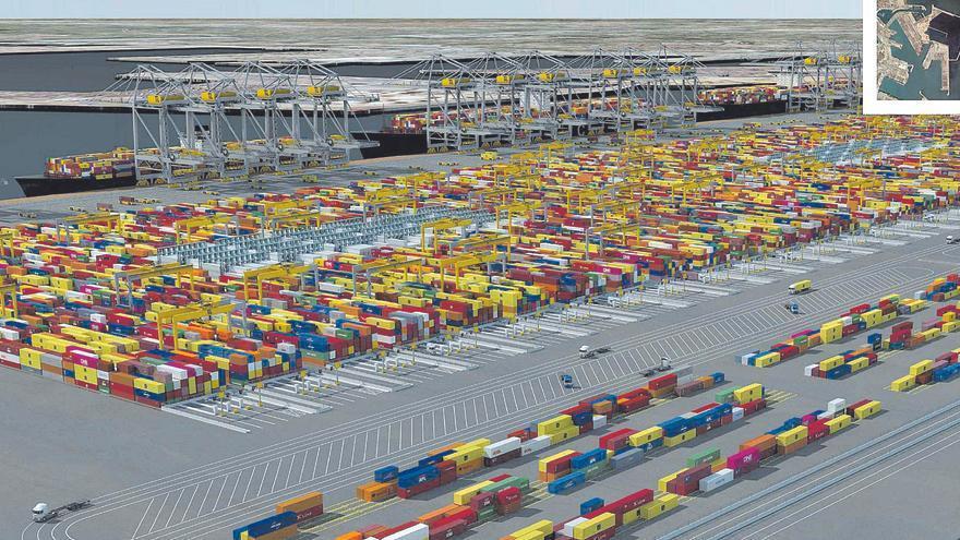 El Gobierno acepta el plan de 639 millones de inversiones del Puerto que incluye la terminal norte